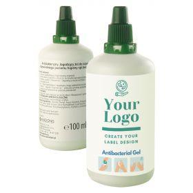 Håndgele med logo 100 ml