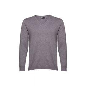 Sweater med logo Herre