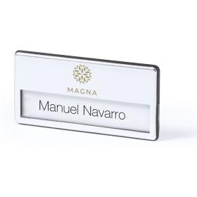 Navneskilte med logo