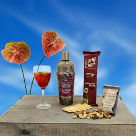Sommer og Strawberry Daiquiry