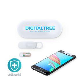 Antibakteriel webcam cover med logo