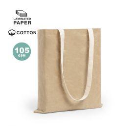 Shoppingposer med logo m/ lang hank