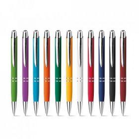 Kuglepenne med logo Metal/Klik