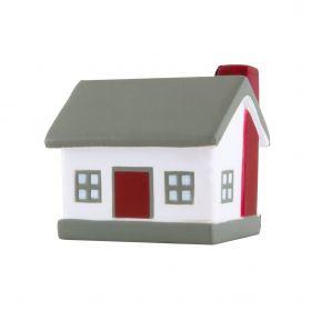 Antistress bolde med logo Formet som Hus
