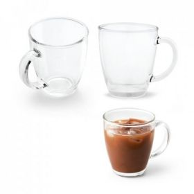 Glas med logo 390 ml