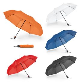 Taskeparaplyer med logo Ø98cm