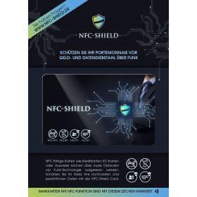 Anti Skimming kort med logo Design selv