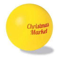 Antistress bolde med logotryk Ø6 cm