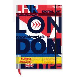 Notesbøger med logo A5 Fuld tryk