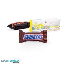 Chokolader med logo i æsker 18g