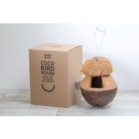 Kokos fuglehus med logo