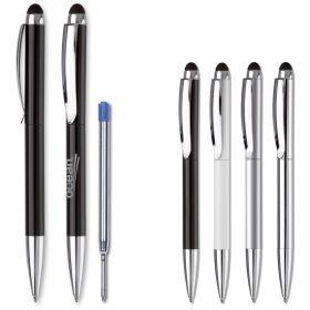 Kuglepenne med logo Metal/Twist