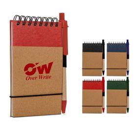 Notesbøger med logo Hardcover m/kuglepen