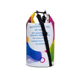 Vandafvisende tasker med logo 10L Design selv