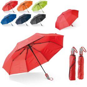 Taskeparaplyer med logo Ø100cm
