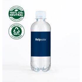 Vand med logo 0,33l Med brus Tappet i Danmark