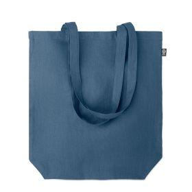 Shoppingposer med logo m/ lang hank Hamp