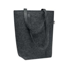 Shoppingposer med logo m/ lang hank RPET