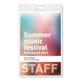 ID kortholder til Keyhangers med logo