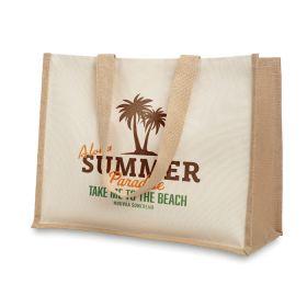 Strandtasker med logo
