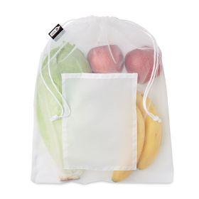 Frugtposer med logo RPET