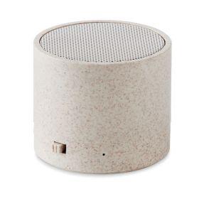 Bluetooth speakere med logo Hvedestrå/ABS