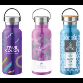 Termoflaske med logo 500ml. Design selv