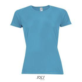 Sport T-shirts med logo Dame