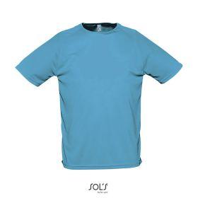 Sport T-shirts med logo Herre