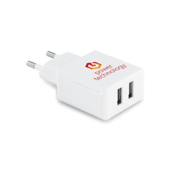 USB adapter med logo