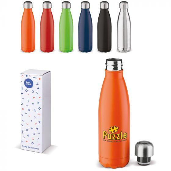 Termoflasker med logo 500ml