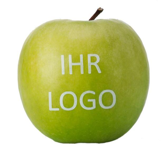 Frugt med logo