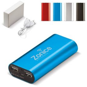 Powerbanks med logo 4000Mah